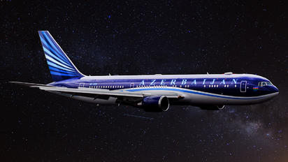 4K-AI01 - Azerbaijan Airlines Boeing 767-300ER