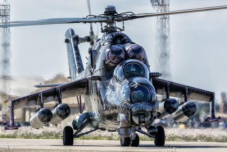 #1 Czech - Air Force Mil Mi-35 3366 taken by Javi Sanchez
