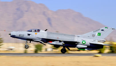 02-837 - Pakistan - Air Force Chengdu F-7PG