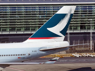 B-HKU - Cathay Pacific Boeing 747-400