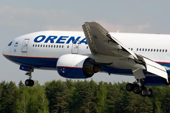 VQ-BNU - Orenair Boeing 777-200