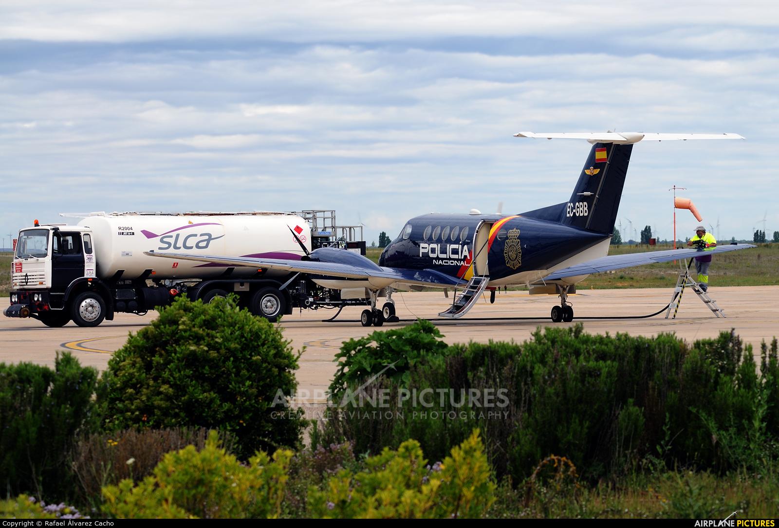Spain - Police EC-GBB aircraft at Valladolid - Villanubla
