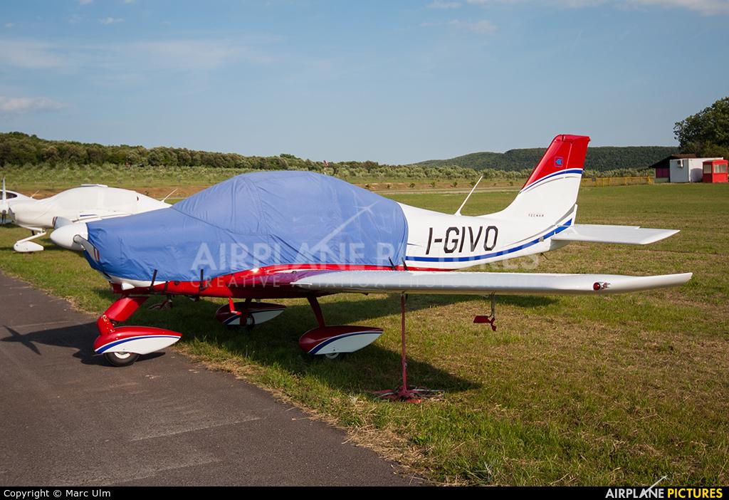 Private I-GIVO aircraft at Vrsar