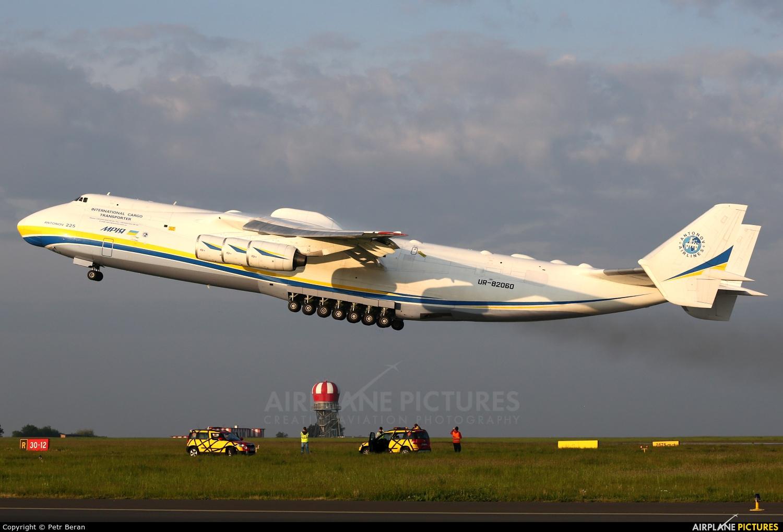 Antonov Airlines /  Design Bureau UR-82060 aircraft at Prague - Václav Havel