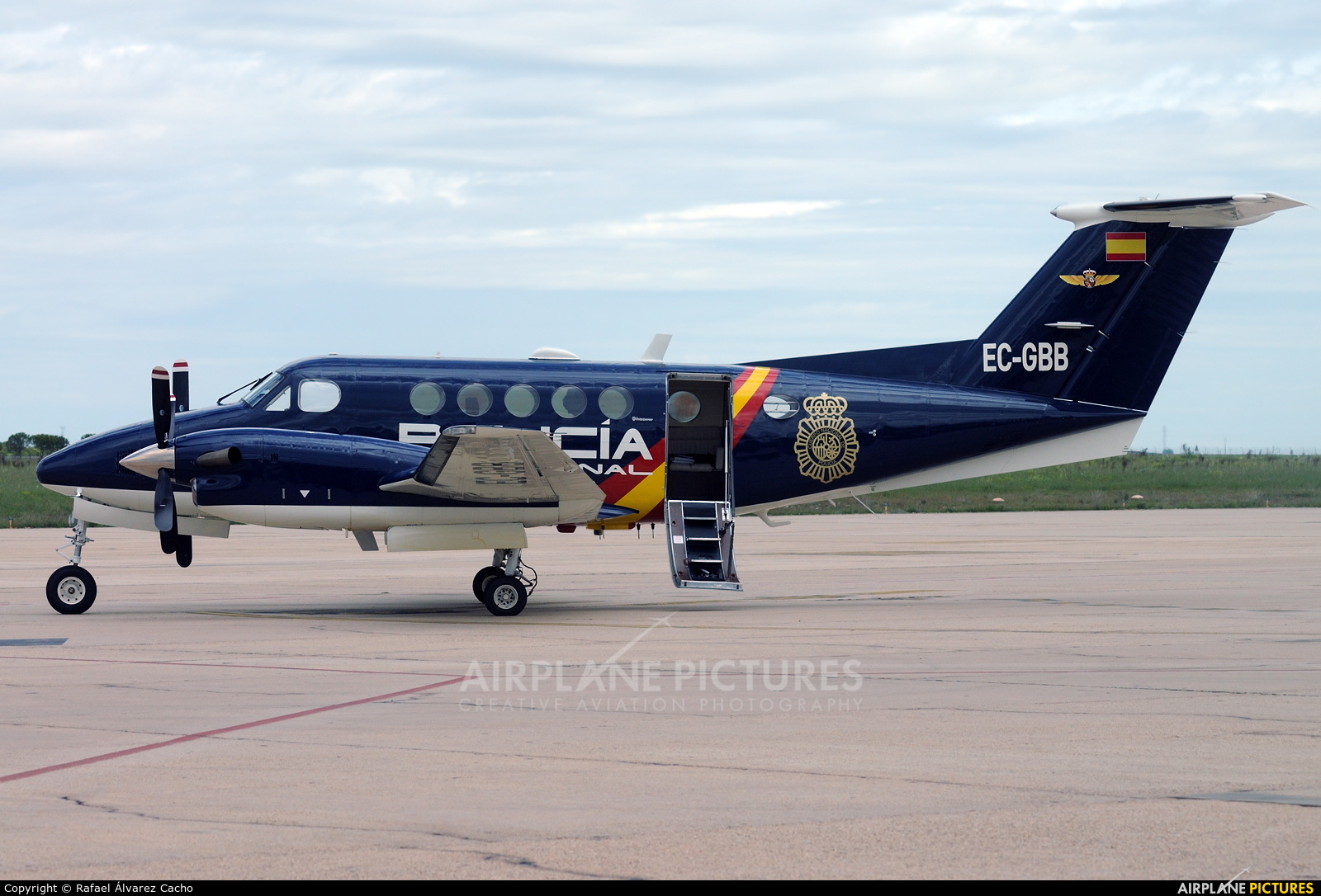 Spain - Police EC-GBB aircraft at Valladolid - Villanubla