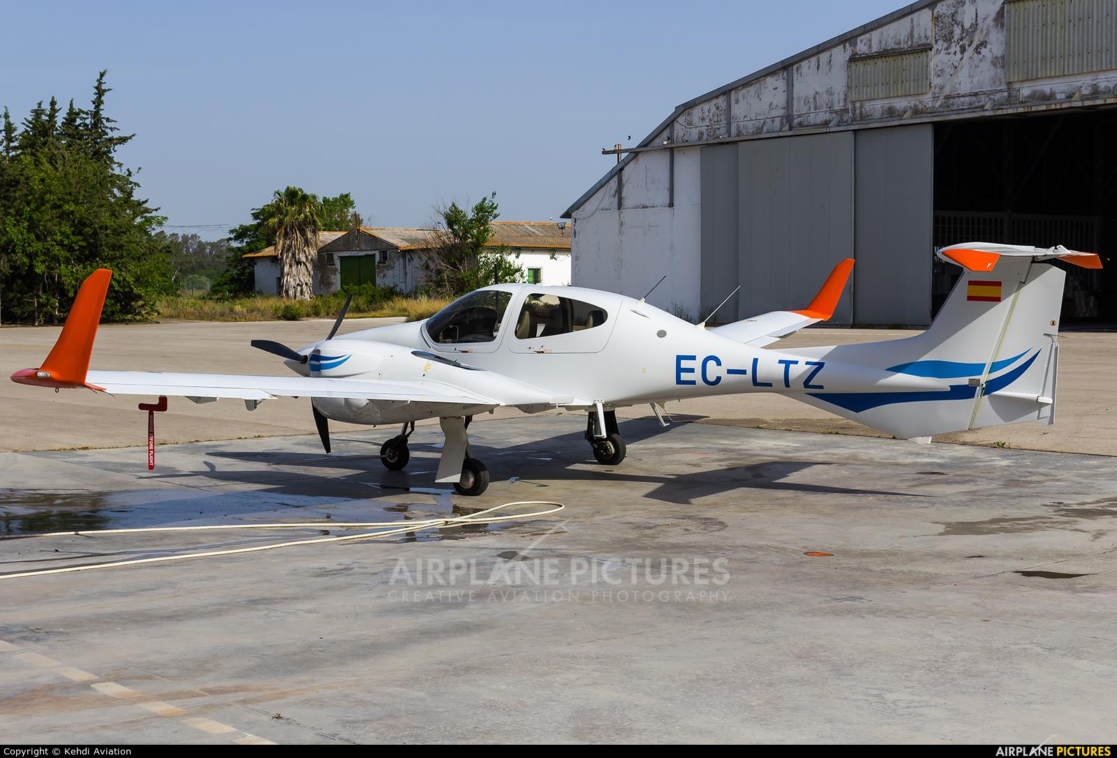 Private EC-LTZ aircraft at Jerez de la Frontera