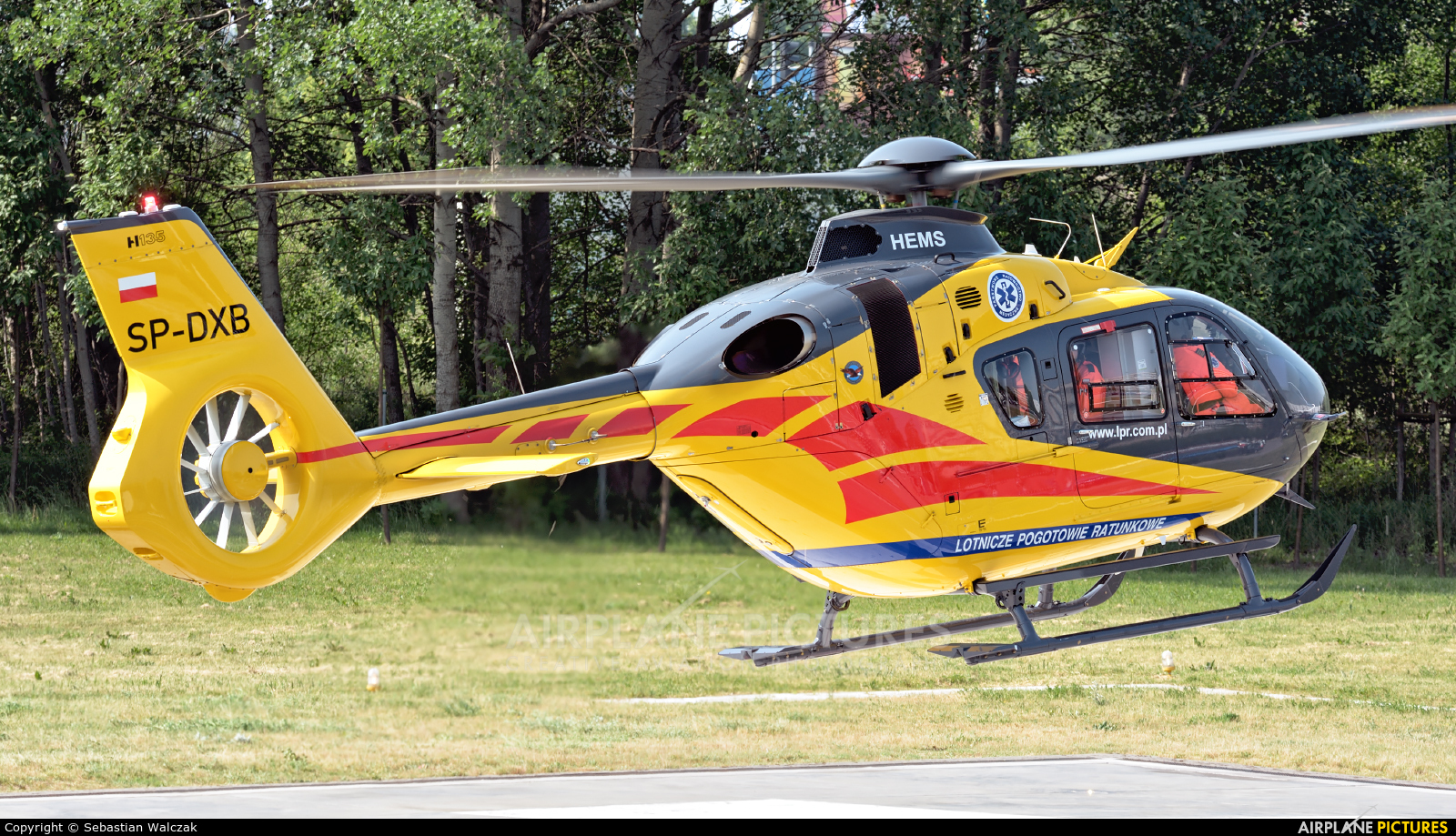 Polish Medical Air Rescue - Lotnicze Pogotowie Ratunkowe SP-DXB aircraft at Off Airport - Poland