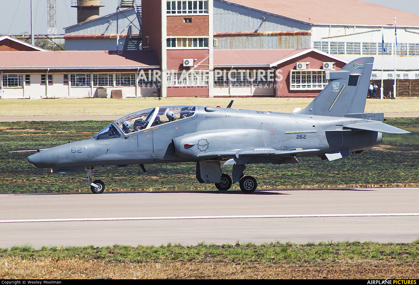 South Africa - Air Force 262 aircraft at Waterkloof