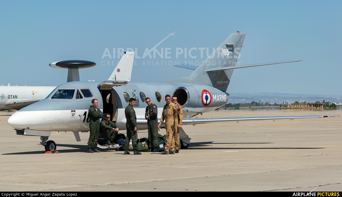 France - Navy 185 aircraft at Zaragoza