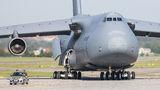 USA - Air Force Lockheed C-5B Galaxy 87-0041 at Gdansk - Lech Walesa airport