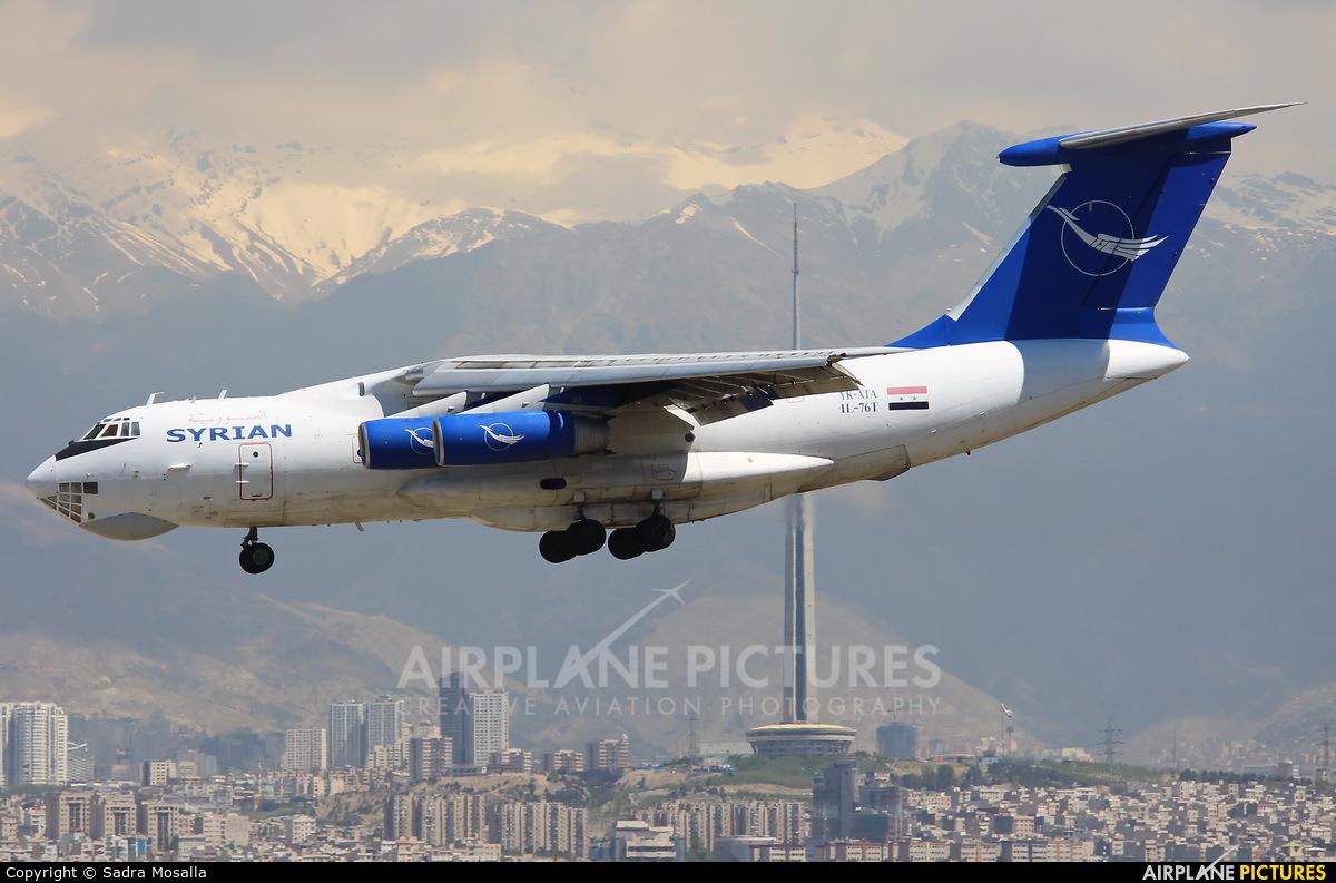 Syrian Air YK-ATA aircraft at Tehran - Mehrabad Intl