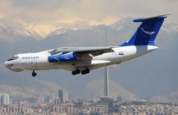 YK-ATA - Syrian Air Ilyushin Il-76 (all models)
