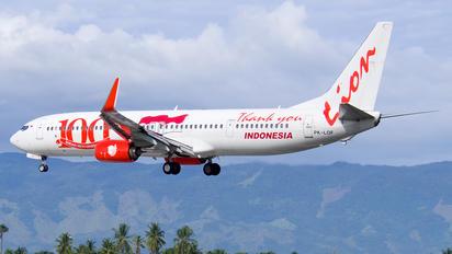 PK-LOF - Lion Airlines Boeing 737-900ER