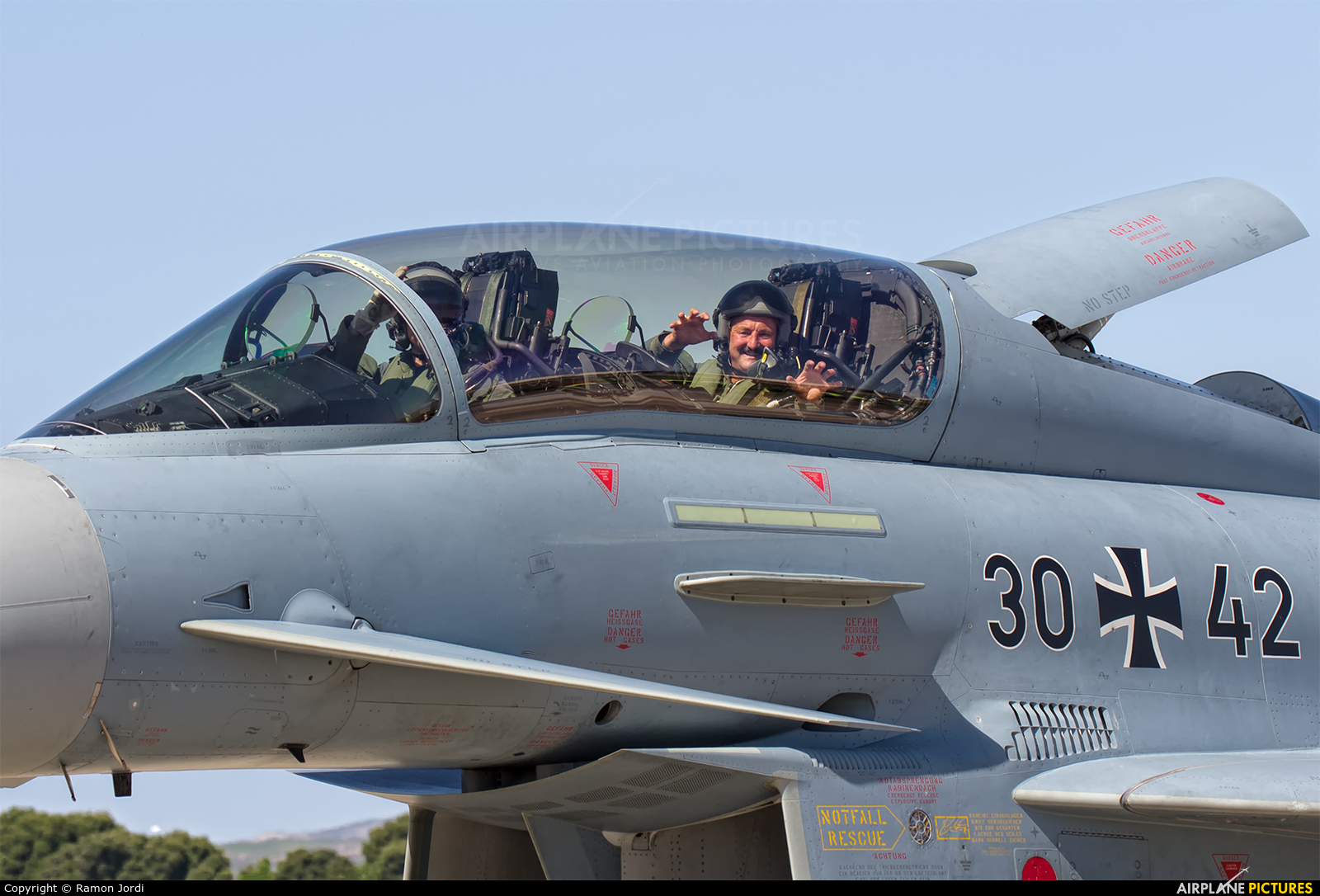 Germany - Air Force 30+42 aircraft at Zaragoza