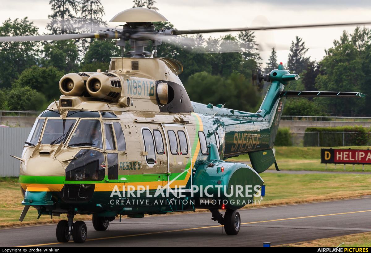USA - Police N951LB aircraft at Langley Regional, BC
