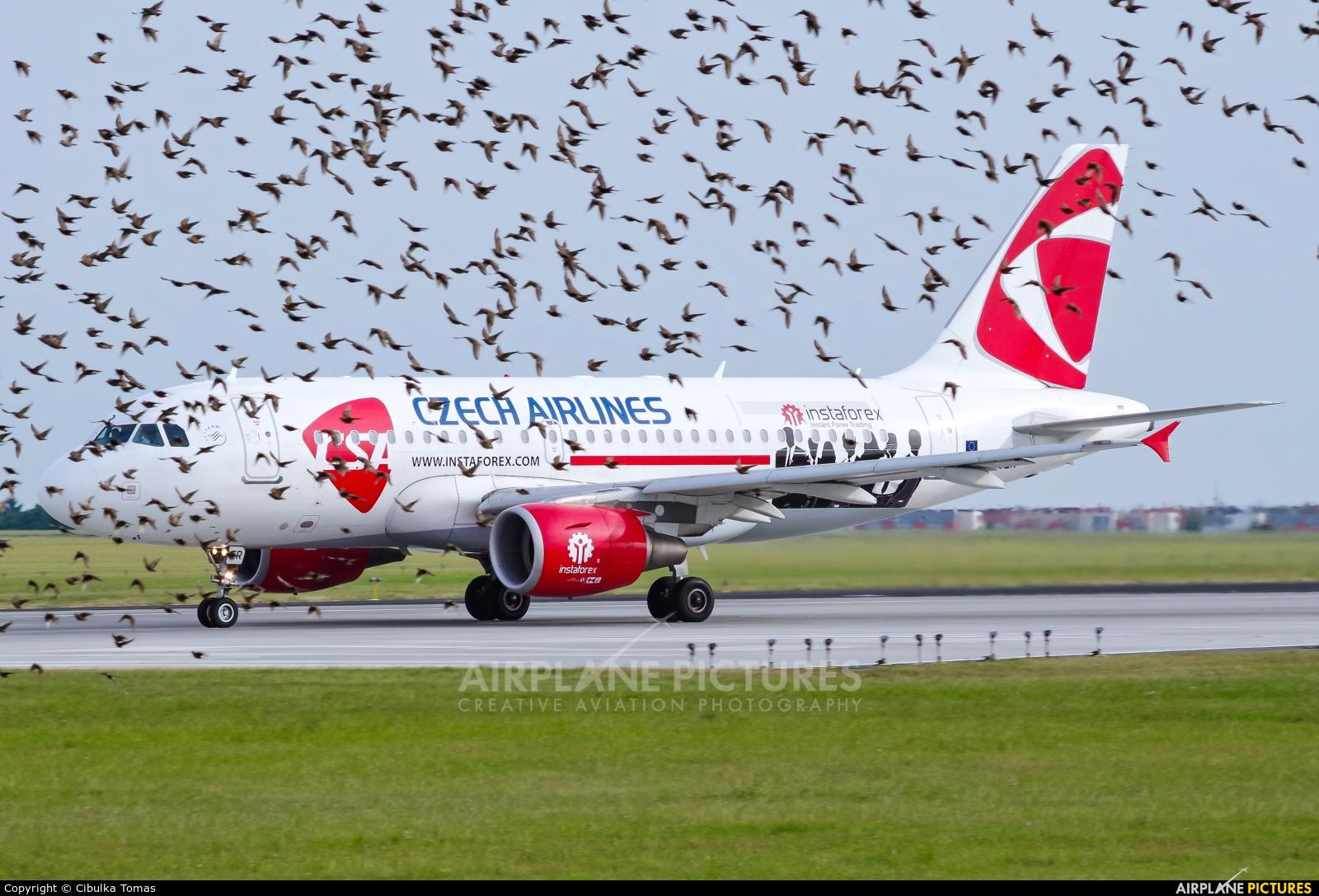 CSA - Czech Airlines OK-OER aircraft at Prague - Václav Havel