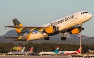 OO-TCX - Thomas Cook Belgium Airbus A320 aircraft
