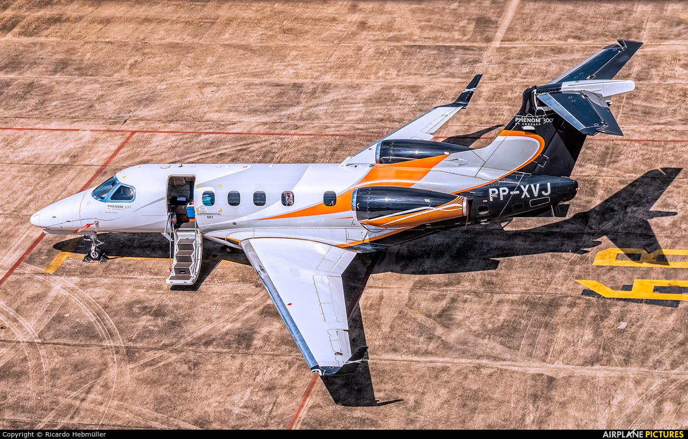 Embraer PP-XVJ aircraft at São José dos Campos, SP