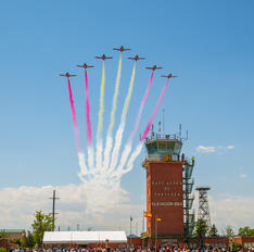 - - Spain - Air Force : Patrulla Aguila - Airport Overview - Control Tower