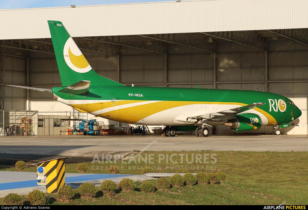 Rio Linhas Aéreas PP-WSA aircraft at Curitiba -  Afonso Pena