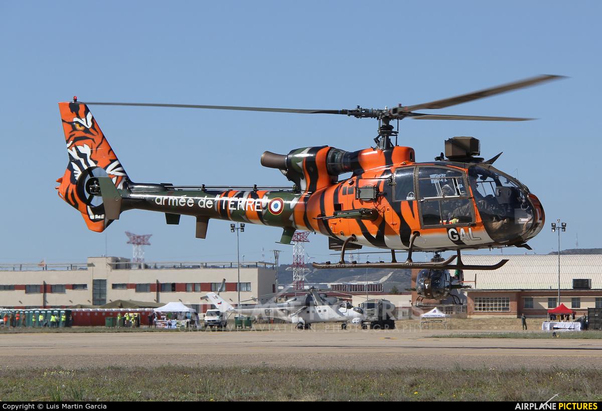 France - Army GAL aircraft at Zaragoza