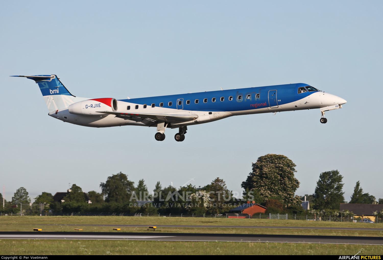 BMI Regional G-RJXE aircraft at Copenhagen Kastrup