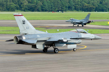 611 - Singapore - Air Force Lockheed Martin F-16CJ Fighting Falcon