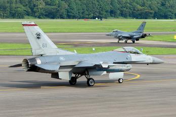 611 - Singapore - Air Force Lockheed Martin F-16CJ Fighting Falcon