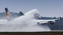D-ABVX - Lufthansa Boeing 747-400 aircraft