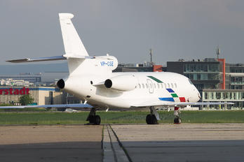 VP-CGE - Volkswagen Air Services Dassault Falcon 900 series