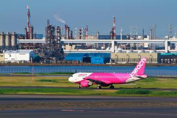 JA803P - Peach Aviation Airbus A320