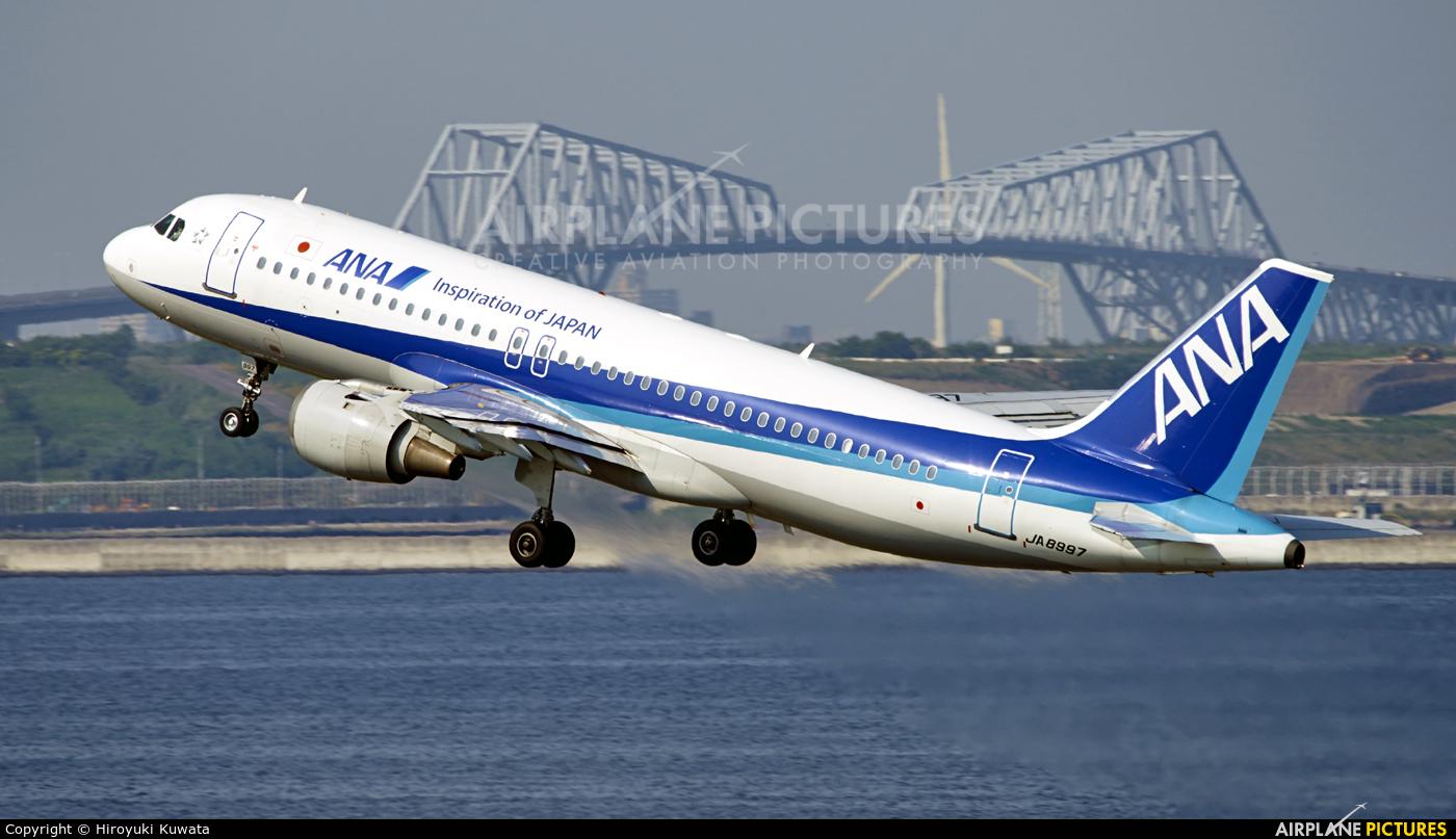 ANA - All Nippon Airways JA8997 aircraft at Tokyo - Haneda Intl