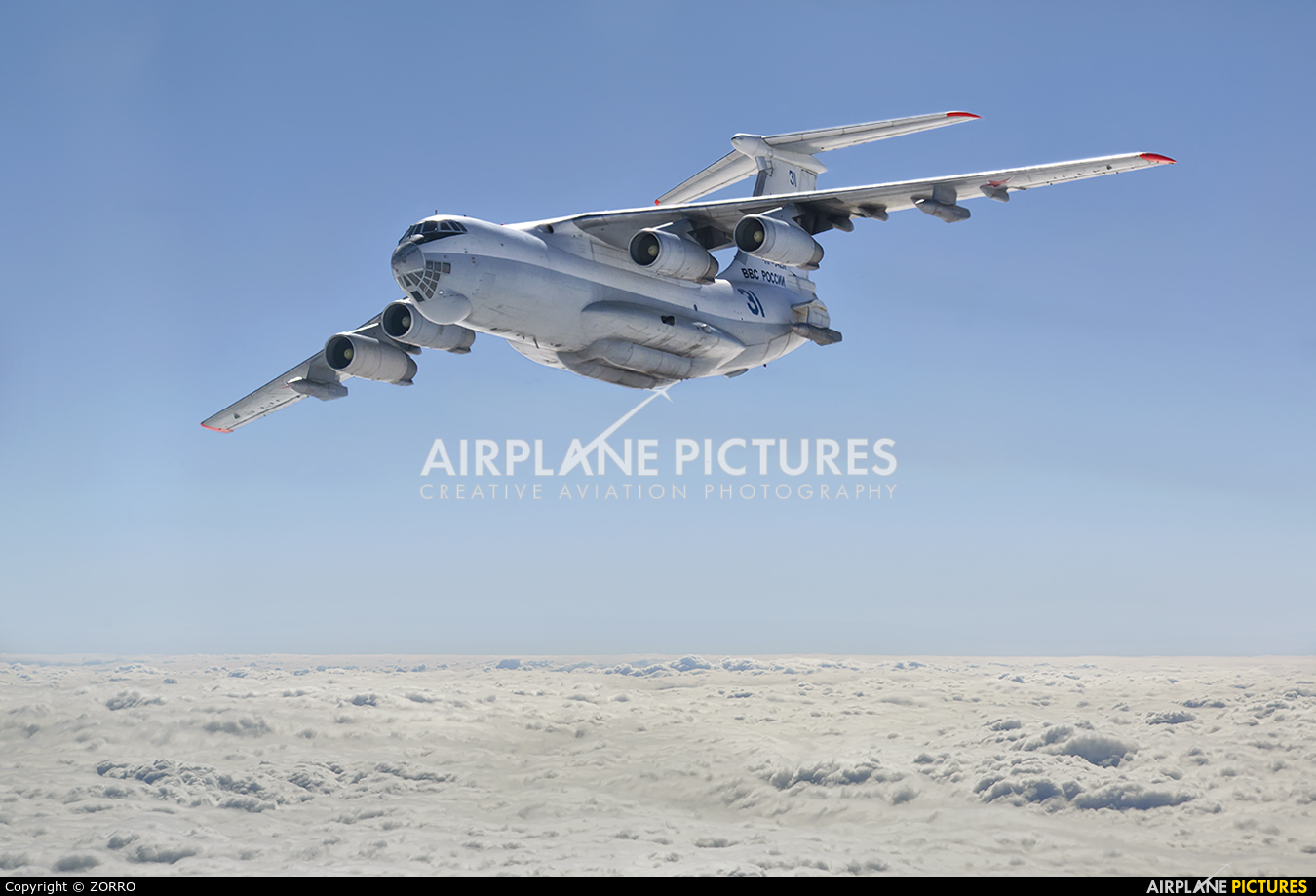 Russia - Air Force 31 aircraft at In Flight - Russia