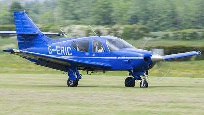 G-ERIC - Private Rockwell Commander 112