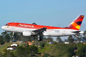 N634MX - Avianca Airbus A319