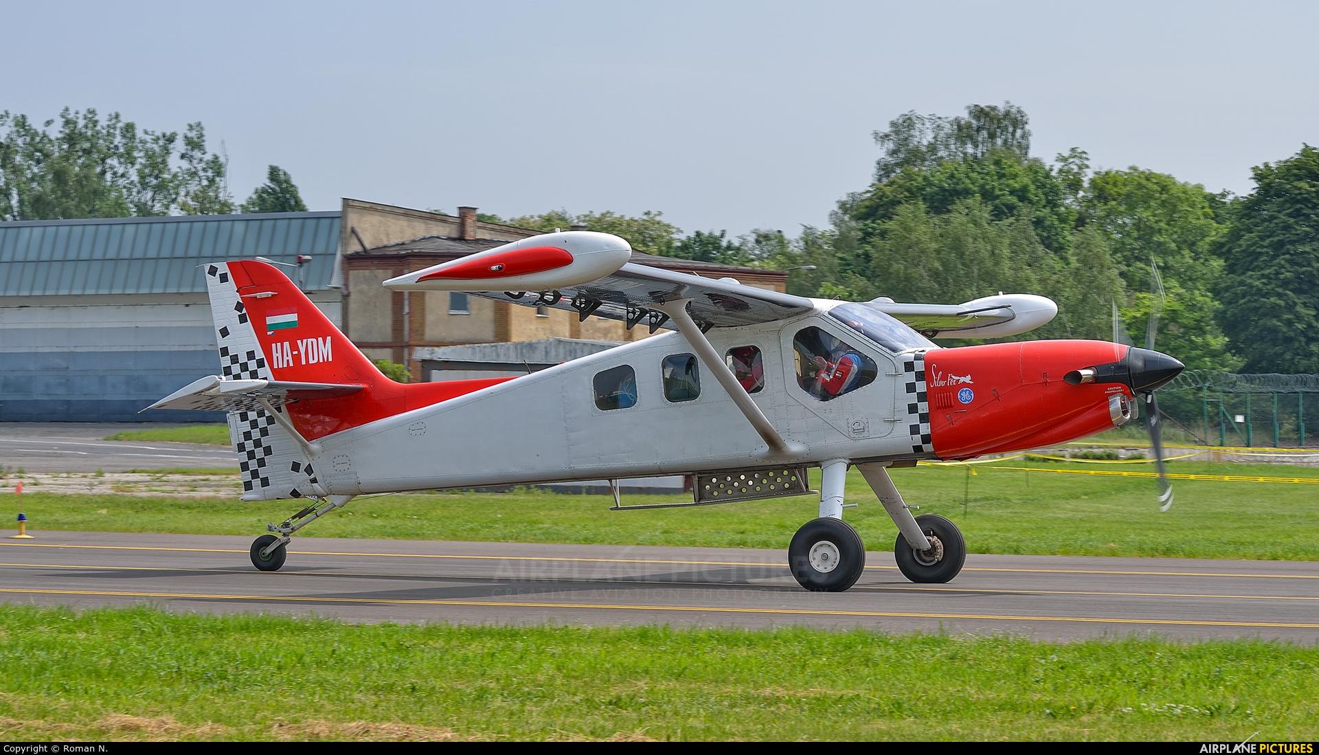 Heritage of Flying Legends HA-YDM aircraft at Poznań - Ławica