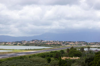 LGKR - - Airport Overview - Airport Overview - Runway, Taxiway