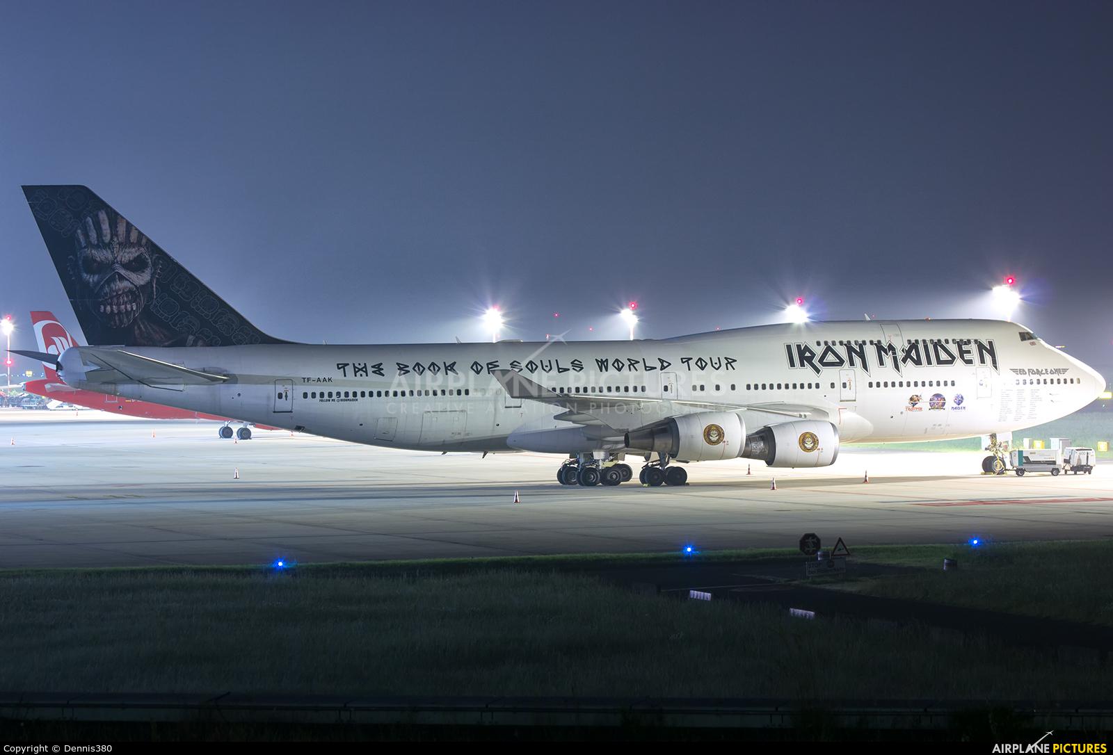Air Atlanta Icelandic TF-AAK aircraft at Düsseldorf