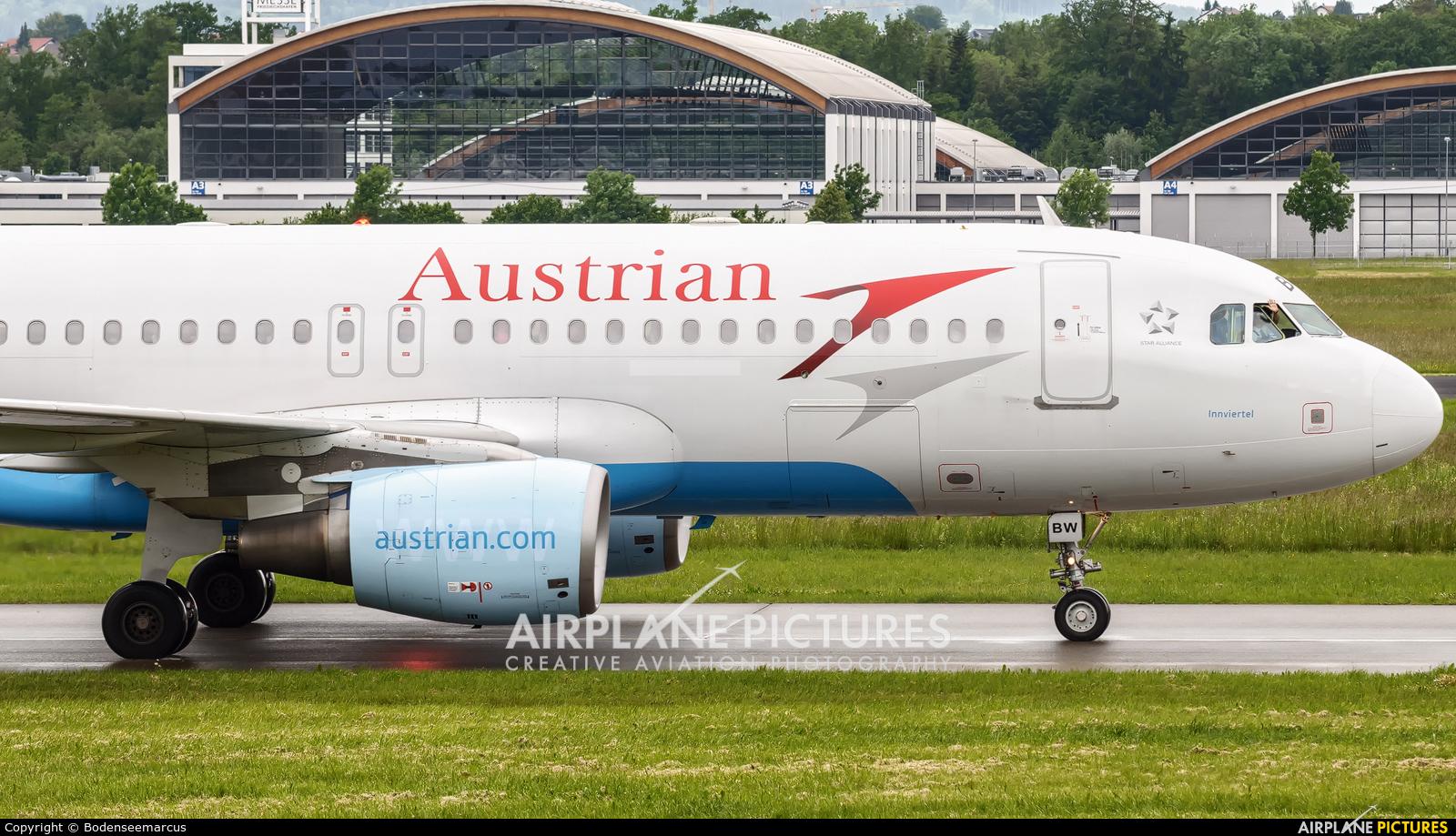 Austrian Airlines/Arrows/Tyrolean OE-LBW aircraft at Friedrichshafen
