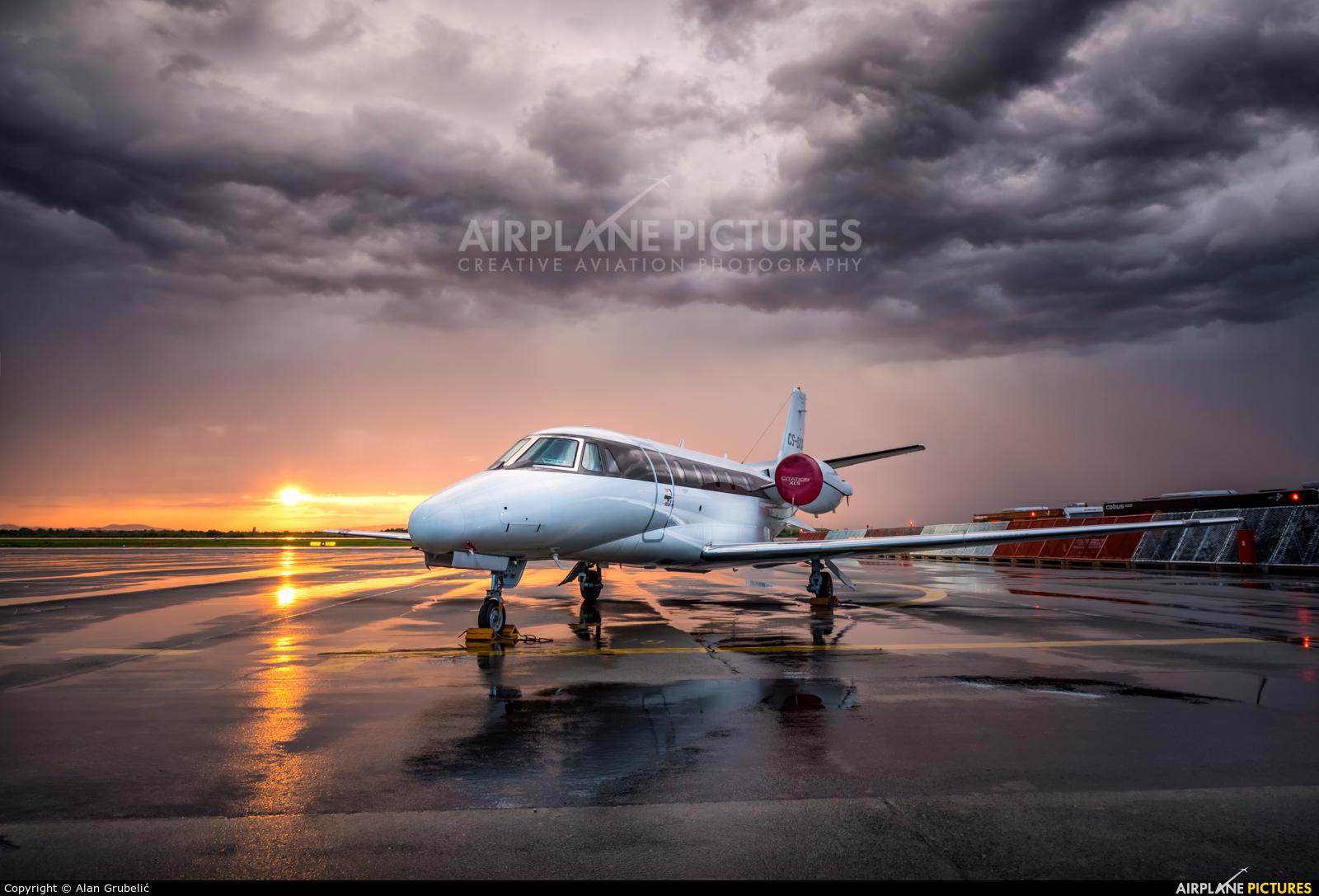 NetJets Europe (Portugal) CS-DXX aircraft at Zagreb
