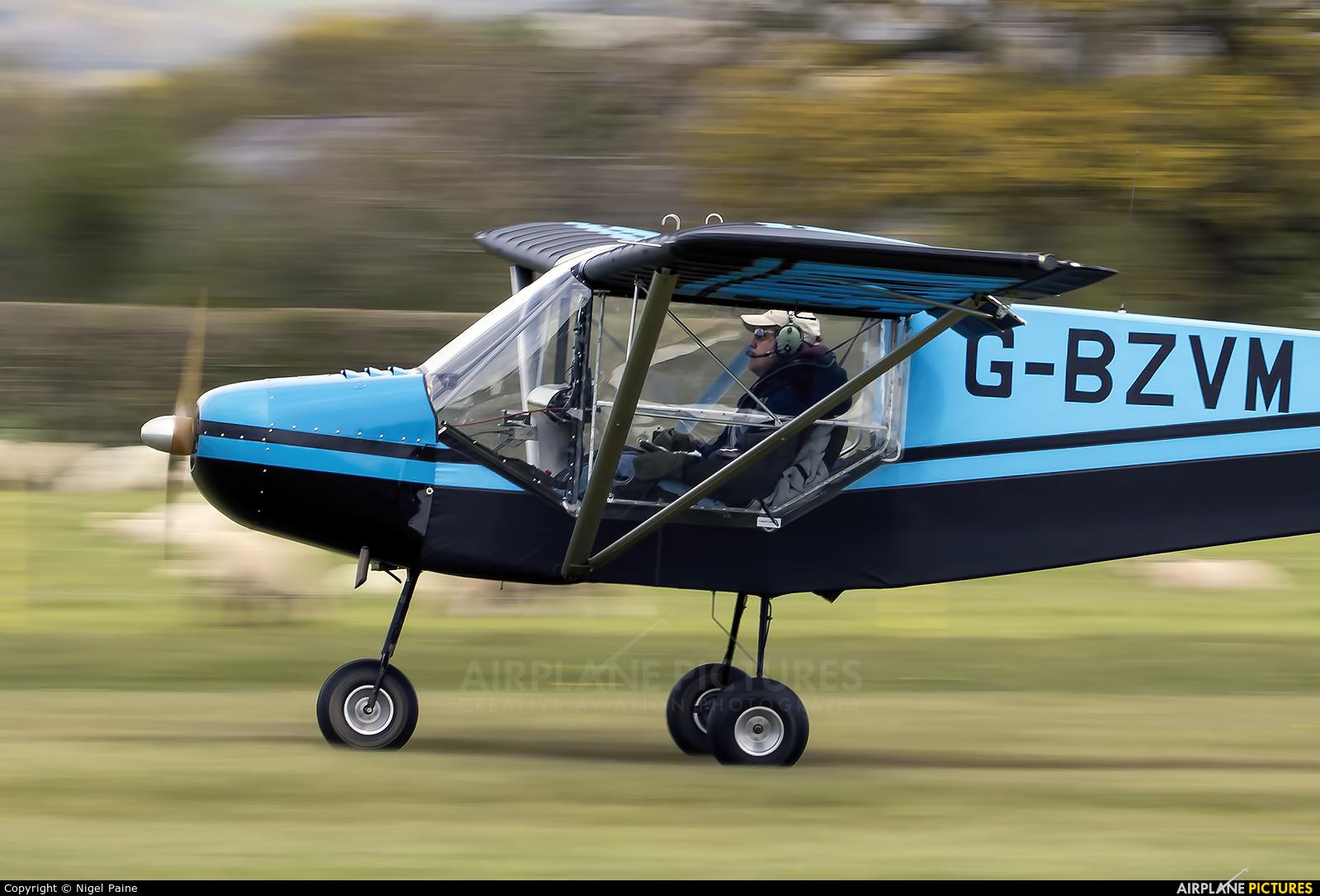 Private G-BZVM aircraft at Lashenden / Headcorn