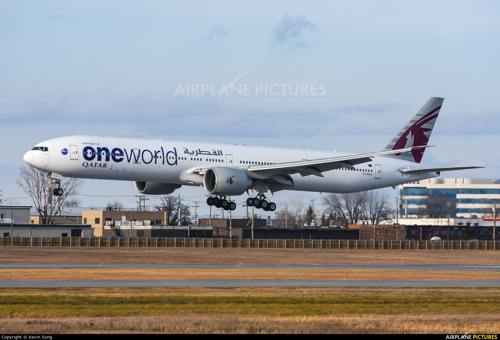 Qatar Airways A7-BAA aircraft at Montreal - Pierre Elliott Trudeau Intl, QC