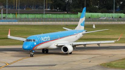 LV-CDY - Austral Lineas Aereas Embraer ERJ-190 (190-100)