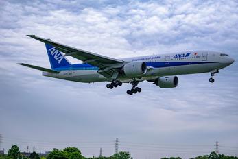 JA701A - ANA - All Nippon Airways Boeing 777-200
