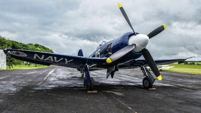 F-AZXJ - Private Hawker Sea Fury FB.11