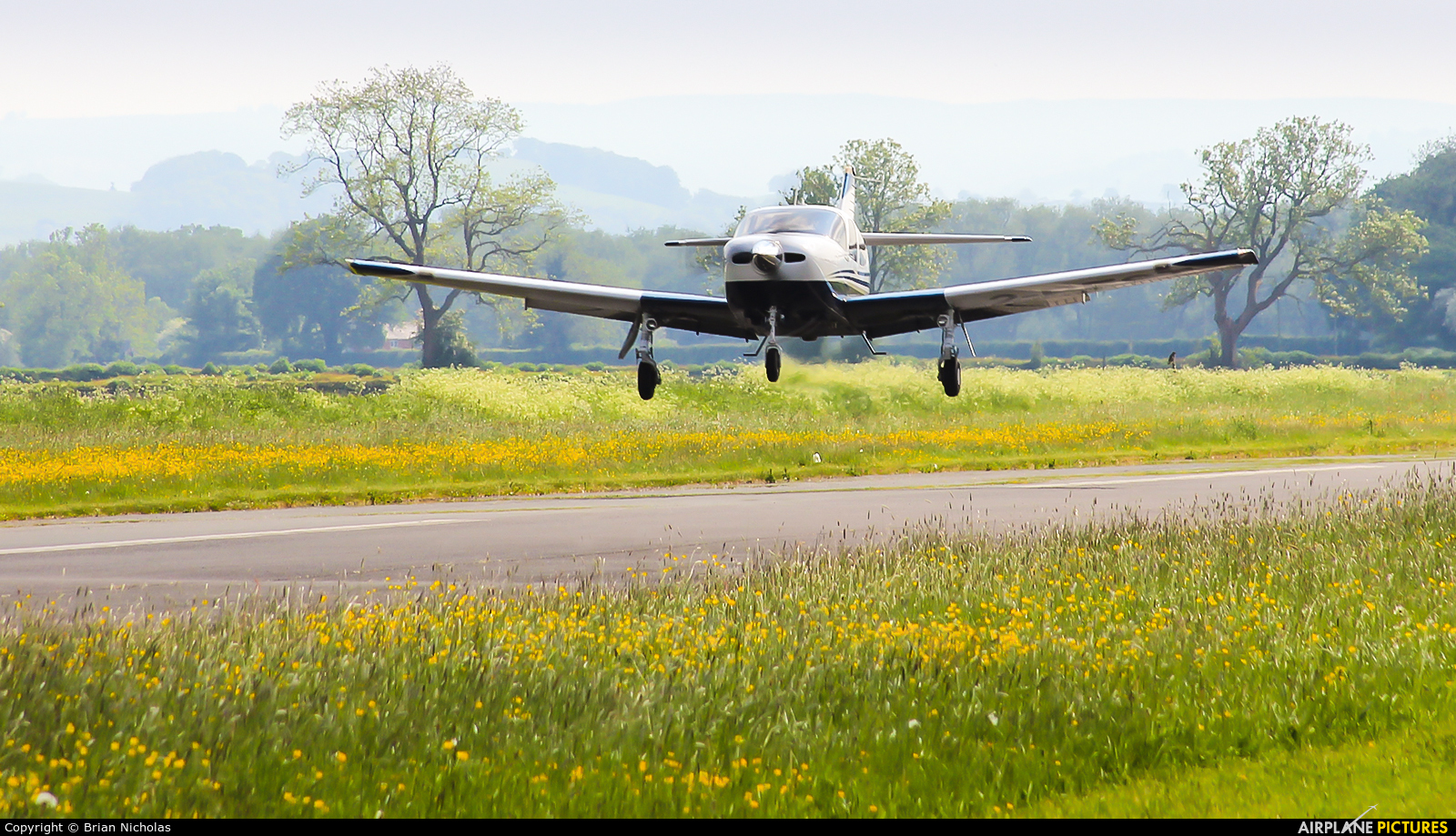 Private 2-BEST aircraft at Welshpool