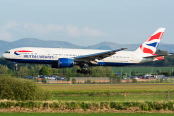 G-YMMI - British Airways Boeing 777-200