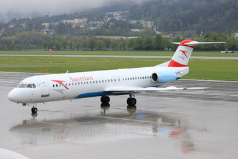 OE-LVL - Austrian Airlines/Arrows/Tyrolean Fokker 100