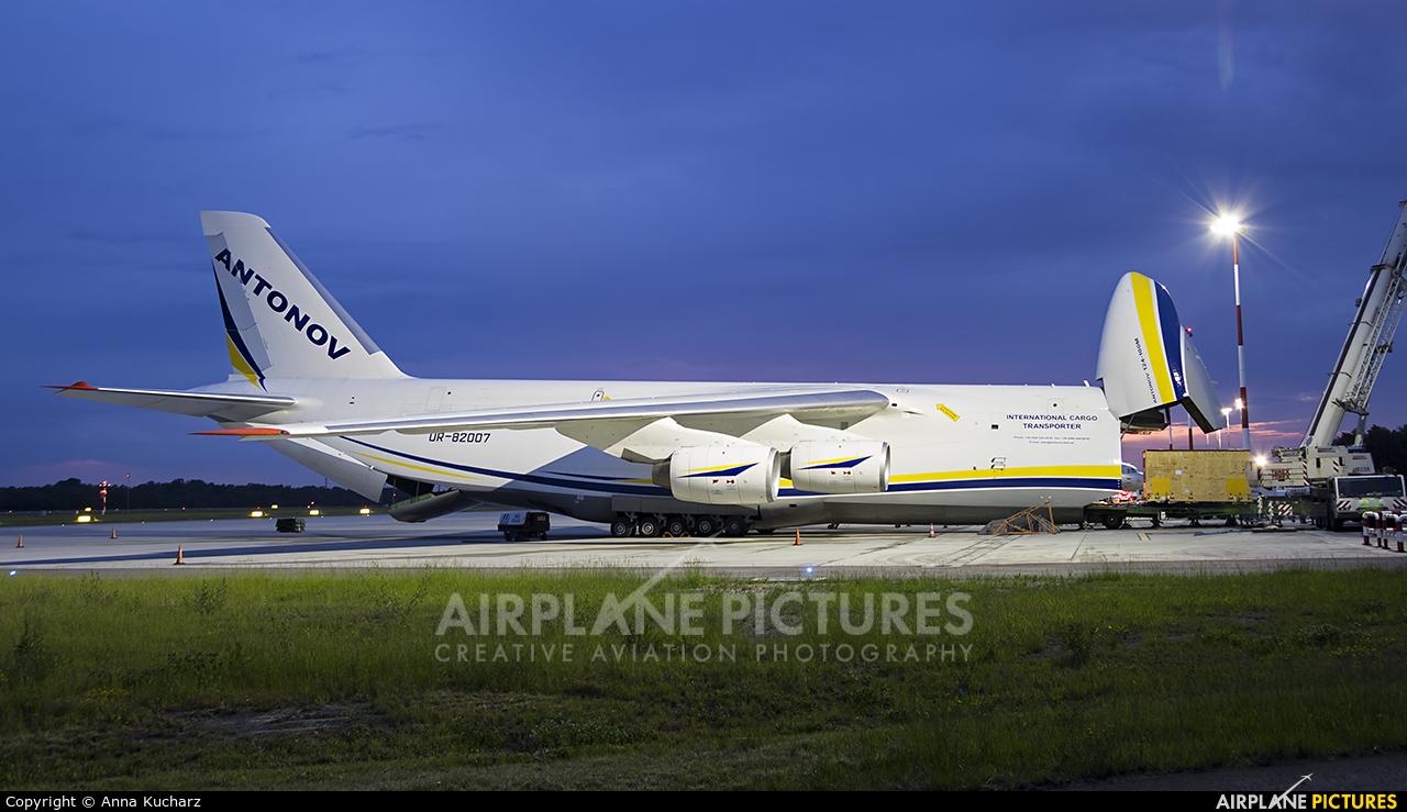 Antonov Airlines /  Design Bureau UR-82007 aircraft at Warsaw - Frederic Chopin