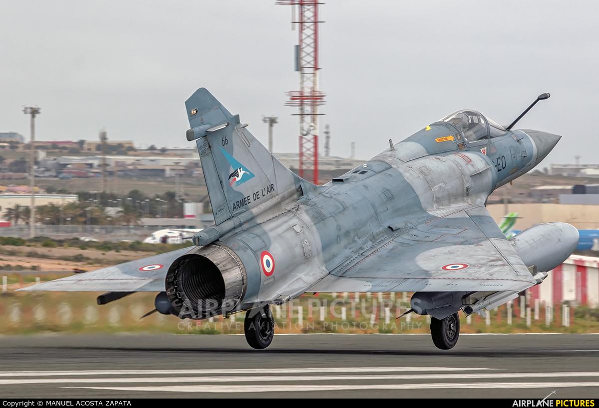 France - Air Force 2-EO aircraft at Las Palmas de Gran Canaria